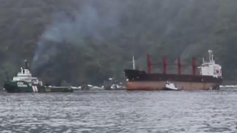 美首次扣押朝鮮貨船 抵美屬薩摩亞接受調查