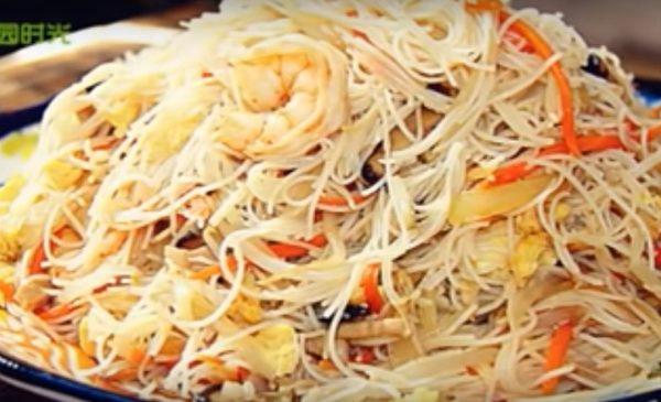 家常炒米粉 簡單、快速、美味(視頻)
