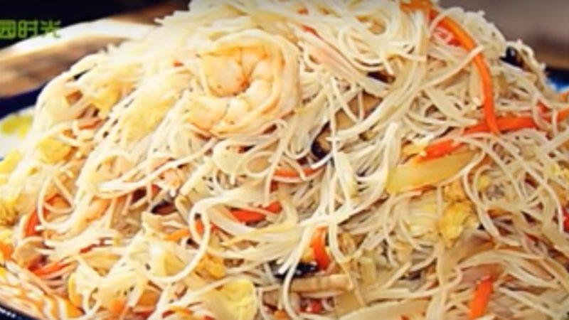 家常炒米粉 简单、快速、美味(视频)