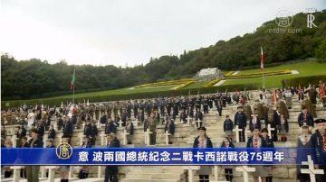 意、波两国总统纪念二战卡西诺战役75周年
