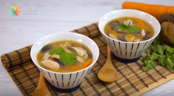 台式香菇赤肉羹 营养美味汤水(视频)