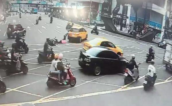 基隆车祸 司机肉身挡车2人压车底