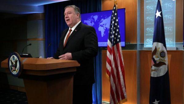 蓬佩奧:川普政府對來自中共的威脅非常重視