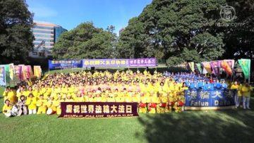 慶世界法輪大法日 悉尼學員盛大遊行