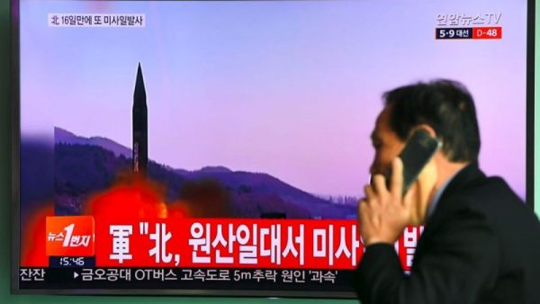 朝鮮再次發射短程導彈 美國首次扣押朝鮮船隻