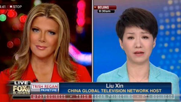 美中女主播论战 网友:刘欣一上场就丢分了(视频)