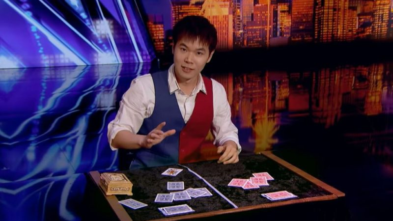 不愧世界冠軍 台魔術師技驚《美國達人秀》