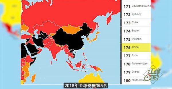 【江峰时刻】毁香港、亲中媒体乱台湾 外国代理人登记清剿海外共媒——世界新闻自由日