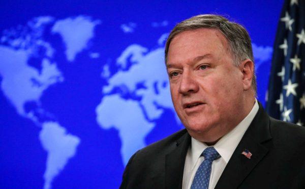 """美国务卿:中共企图将北极变成""""另一个南海"""""""