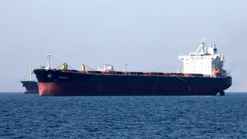忌惮美国 中共2000万桶伊朗原油陷入困境