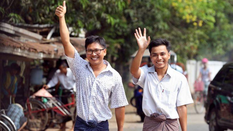 違反緬甸「機密法」 路透社2記者特赦獲釋