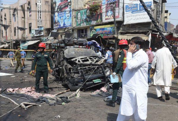 巴基斯坦苏菲派殿堂外爆炸 酿9死25伤