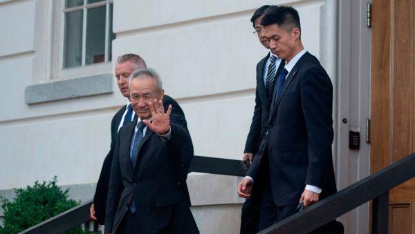谈判无果 刘鹤差点摔倒!川普提名 新任防长更鹰派 瞄准中国