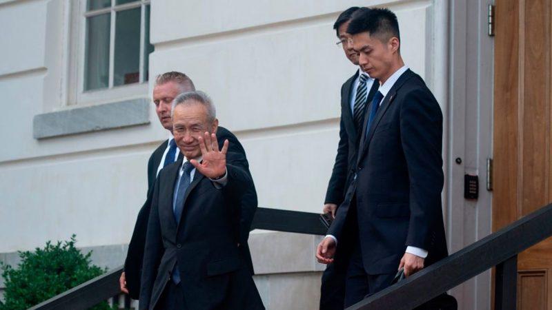 談判無果 劉鶴差點摔倒!川普提名 新任防長更鷹派 瞄準中國