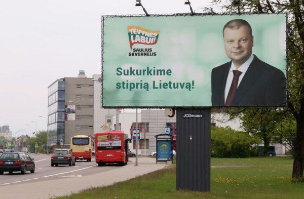 支持度排第3 立陶宛总理自估败选7月下台