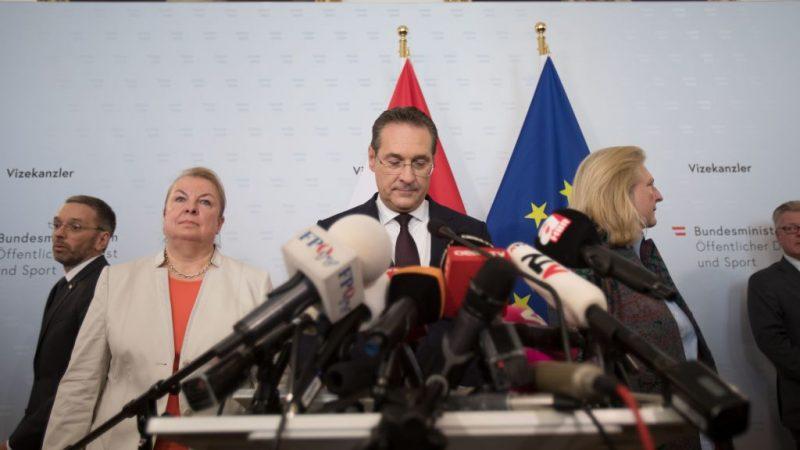 通俄被密錄曝光 奧地利副總理閃辭 政府將提前大選