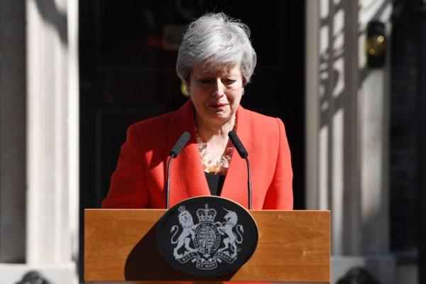 英首相梅宣布6月7日辭職 英國脫歐前景愈發不明