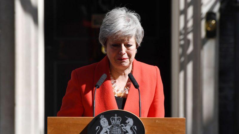 英首相梅宣布6月7日辞职 英国脱欧前景愈发不明