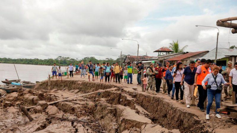 规模8强震袭秘鲁北部 至少1死11人伤