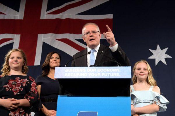 澳洲激烈大选 执政联盟后来居上 工党认败