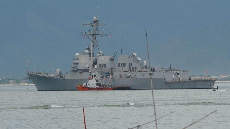 美中艦艇南海對峙頻繁 美軍方曝「過招」細節