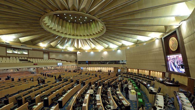 泰國公民力量黨結盟民主黨 乃川任眾議院議長