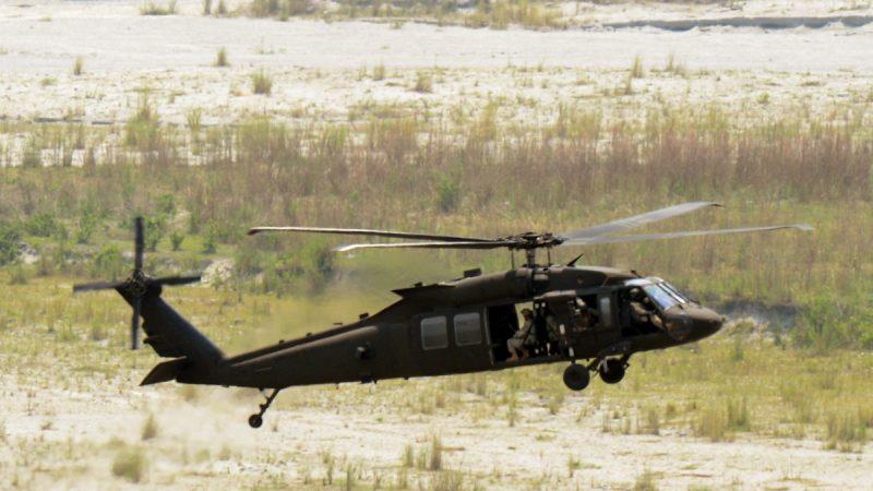 網傳一架中共直昇機墜毀 6名軍人全部墜亡