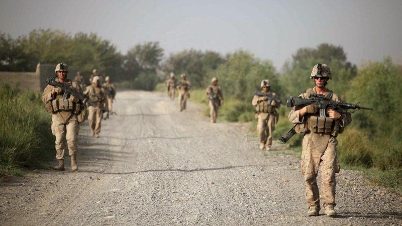 揭秘:一支美军驻扎中国境内  险与中方爆枪战