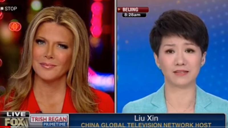 重播:美中女主播辩论 全球瞩目(视频)