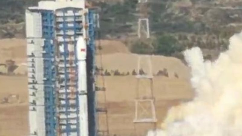 中共最新遥感卫星发射失败 现场照曝光
