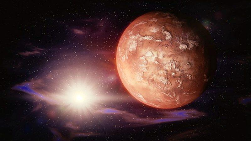 火星真有生命?北极下方发现特大水库