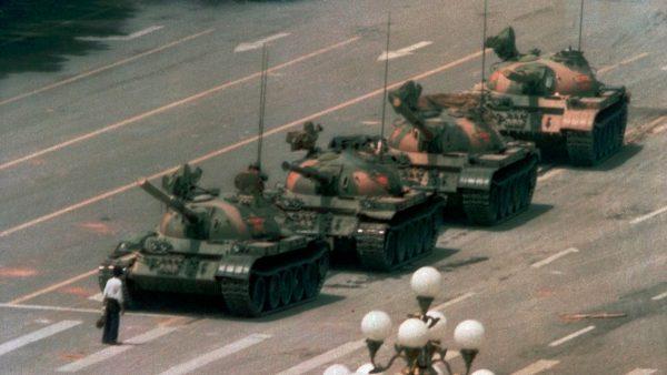 六四坦克人失踪前 留下完整录像(视频)