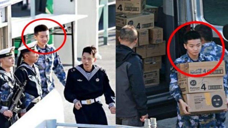 中共海軍「祕密使命」曝光 被諷奶粉艦隊