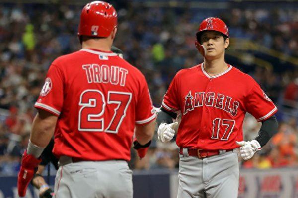 MLB大谷翔平完全打擊 日籍球員第一人