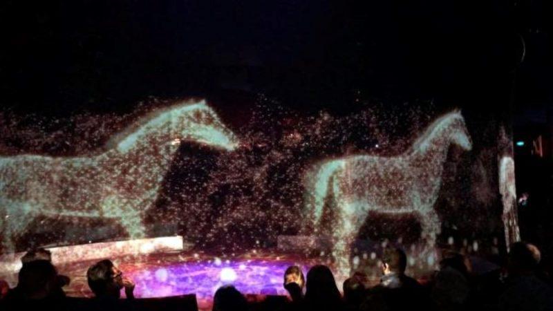 无野生动物的马戏团!德首创全息3D表演