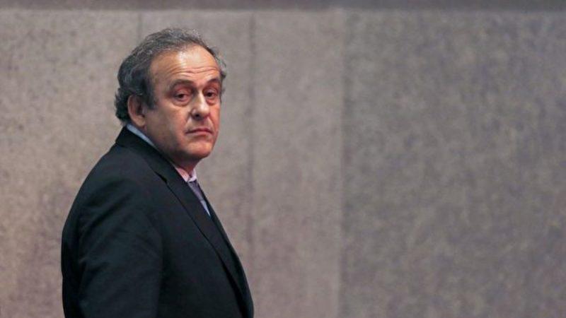 涉嫌2022年世界杯申办丑闻 普拉蒂尼被捕