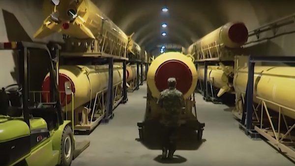 防美軍空襲 伊朗自曝深山地下導彈設施