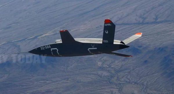 可改變未來空戰 美無人戰機完成第二次試飛
