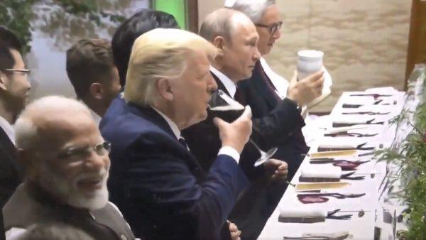 普京G20拿保温瓶敬酒 网友:长久执政罹妄想症