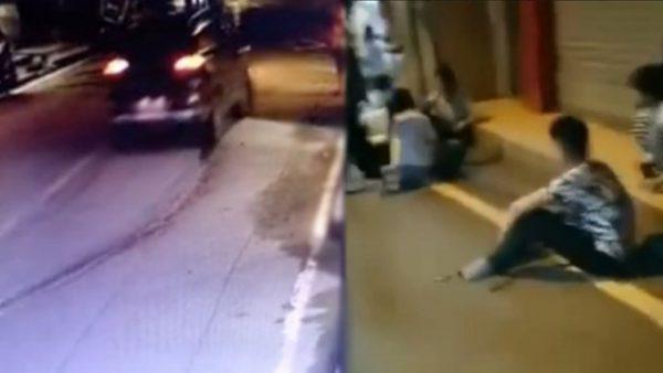 重庆司机街头疯狂乱撞 至少酿4死9伤