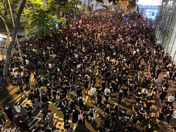 《石涛聚焦》6.26 逾万港人聚集中环 – 自由香港 还我真普选