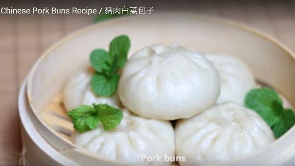 猪肉白菜包子 很受欢迎(视频)