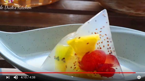 美丽的果冻粽子 为端午节增添漂亮色彩(视频)
