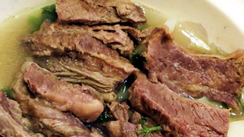 清湯牛腩煲 味道鮮甜(視頻)