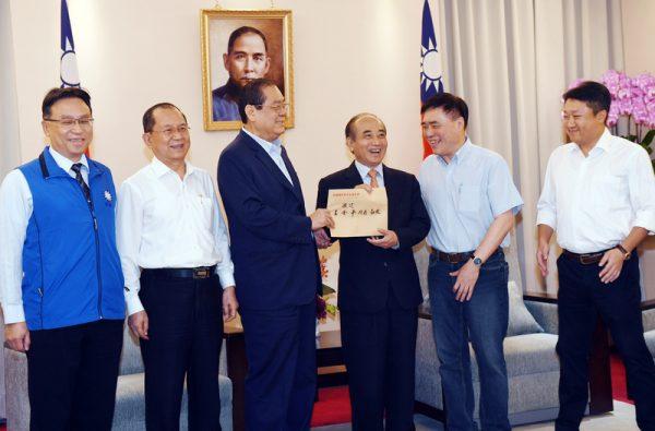 王金平退出國民黨總統初選