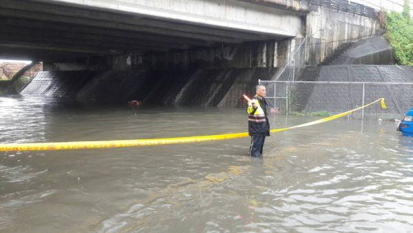 梅雨鋒面籠罩台灣 高雄一級淹水警戒