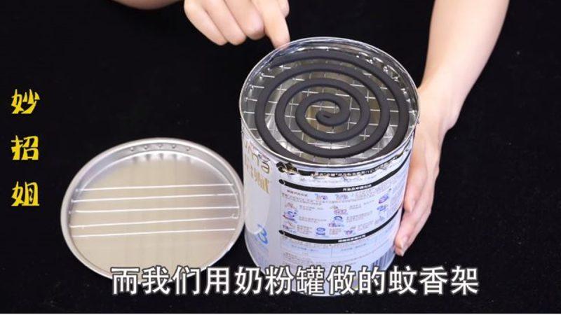 奶粉罐別再扔了,在上面打幾個洞放在房間裡,太實用了!