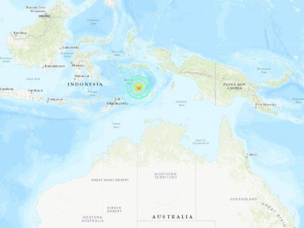 印尼7.3深層強震 距離700公里澳洲北部都有感