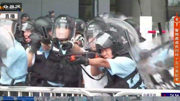 文睿:如果施暴者不是香港警察 希望香港警察澄清 不要让你们的子女因为你们蒙羞