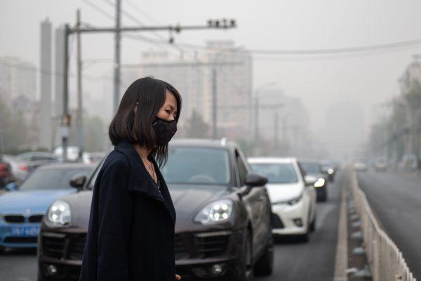中共宣称PM2.5下降42% 网友:空气还是臭的